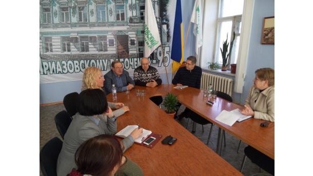 Зустріч у прес-клубі Маріуполя (18 лютого 2015 рік)