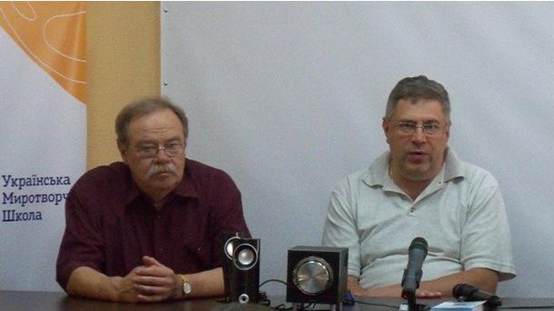 Прес-конференція в Луганській області (Сєвєродонецьк)