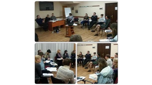 Тренінг для тренерів (Київ 2-3 листопада 2015 року)