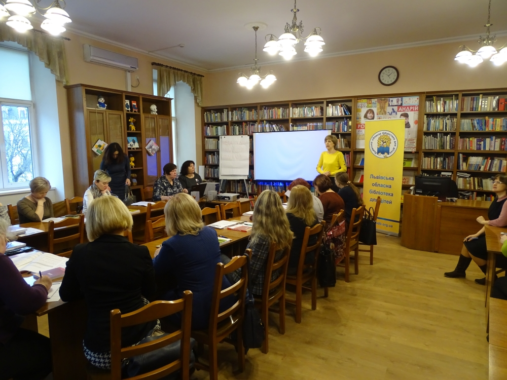 Workshop in Lviv: «Critical Thinking and Media Literacy in Elementary School»