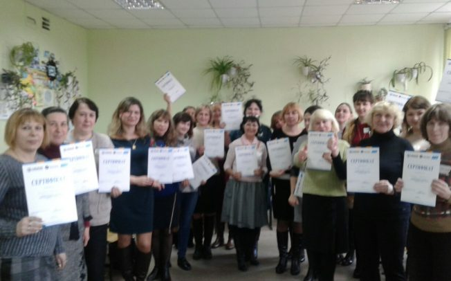 Lysychansk elementary school teachers figured out the fundamentals of media literacy