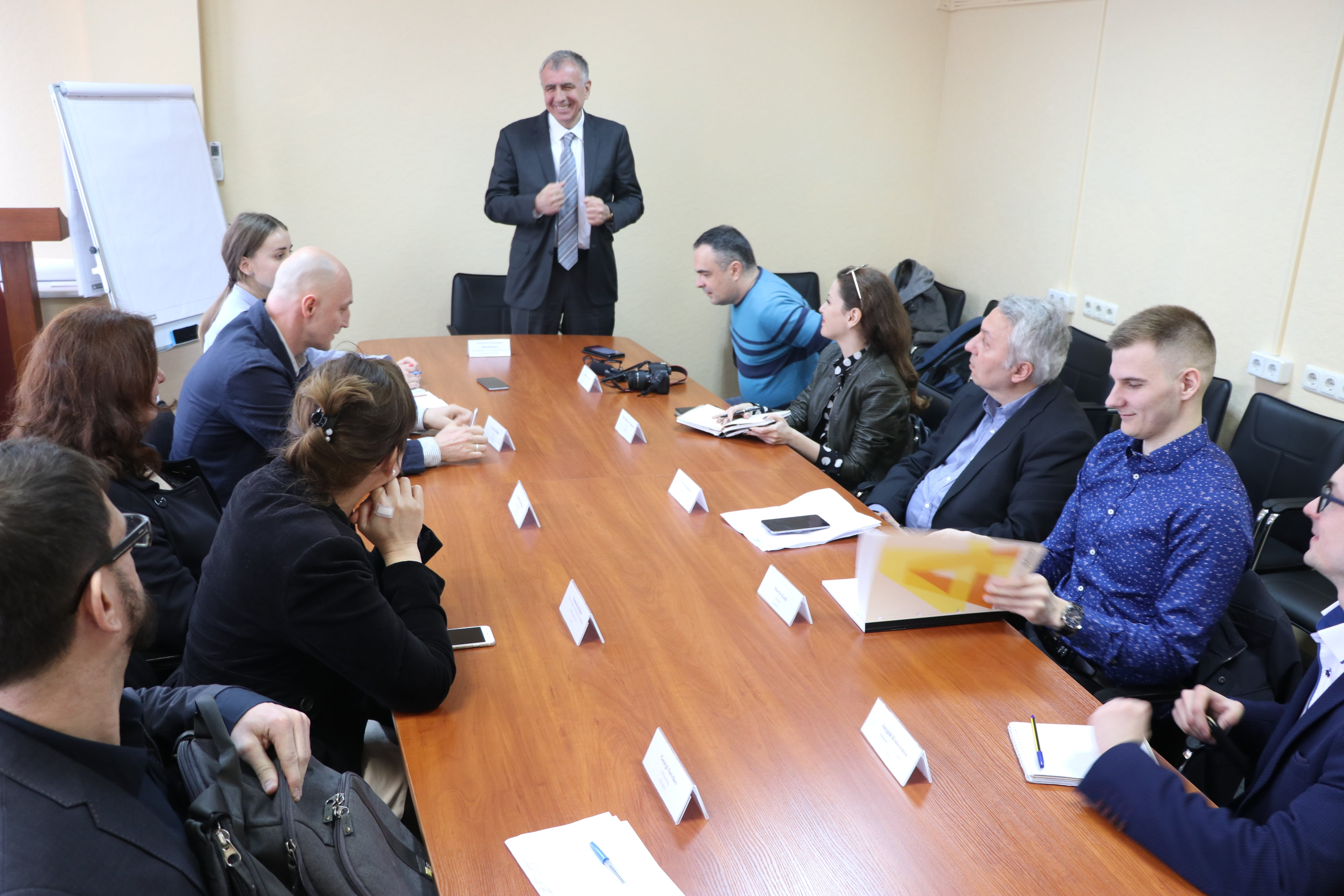 VISIT TO UKRAINE AFTER THE PRESIDENTIAL ELECTIONS: THE 7TH INTERNATIONAL PRESS TOUR