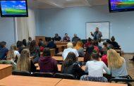 Розмова про професію журналіста зі студентами Університету митної справи та фінансів