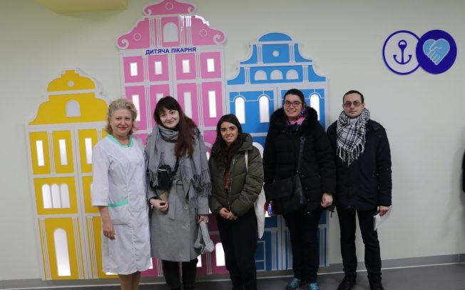 UKRAINE AND ITS PEOPLE IN THE SPOTLIGHT OF FOREIGN REPORTERS: AUP'S INTERNATIONAL PRESS TOUR IN DECEMBER, 2019