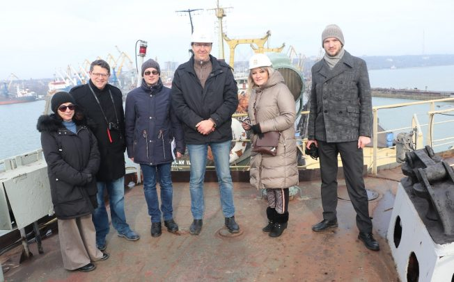 MEDIA COVERAGE AT FIRST HAND: FOREIGN REPORTERS VISITED UKRAINE IN JANUARY 2020