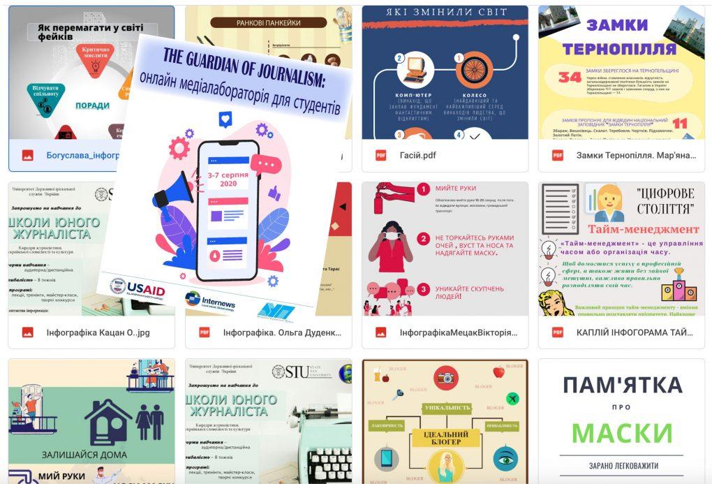 Малюємо інфографіку з АУП. – День 4 онлайн медіалабораторії «THE GUARDIAN OF JOURNALISM»